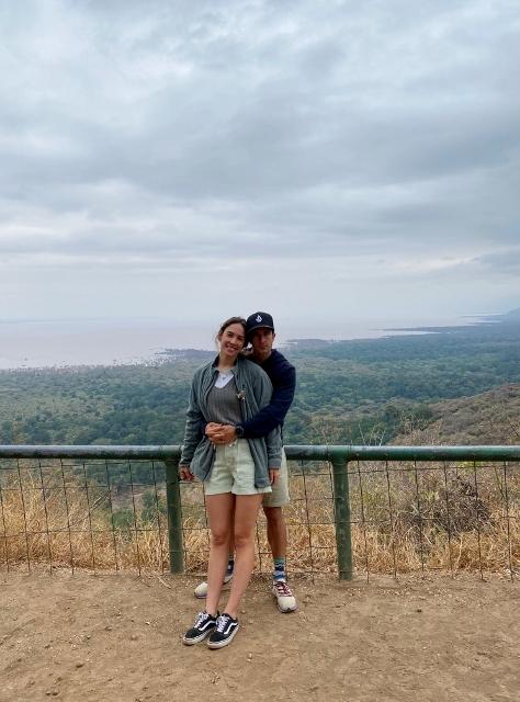 El lago Nakuru. Por Laura