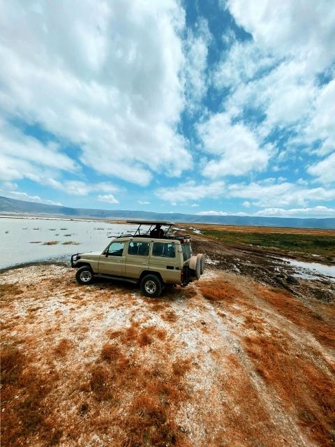 En la caldera de Ngorongoro. Por Samuel