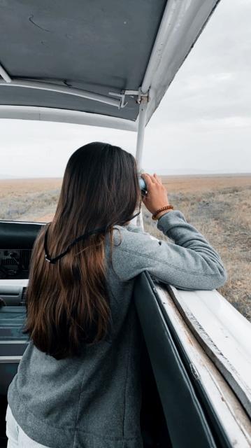 De safari en minivan. Por Laura