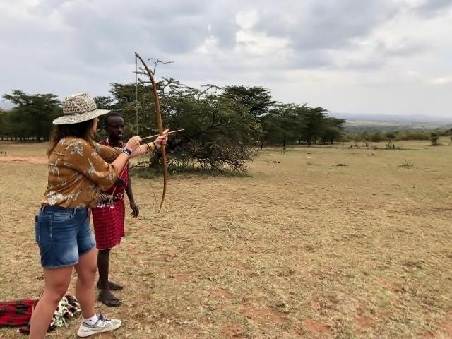 Técnicas de caza o defensa. Por Udare